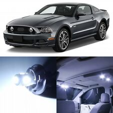 9 x Xenon White Interior LED Lights Package For 2010- 2014 Ford Mustang +TOOL