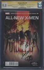 All-New X-Men #19 SHIELD Photo Cover variant__CGC 9.8 SS__Signed by SHIELD cast