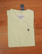 NWT Abercrombie & Fitch MaComb Mountain Tee Medium Yellow By Hollister