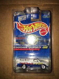 1998 hot wheels trailer edition Dodge Ram 1500 treasure hunt W/ real riders New