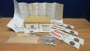 SCENERY UNLIMITED S GAUGE KIT 40' 40 TON COORS REEFER CAR 602150