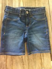 So Girls Denim Stretch Bermuda Shorts Size 10