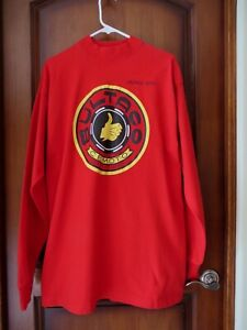 BULTACO CEMOTO Motorcycle Red Long Sleev T Shirt Vintage Iron Unisex Size LG NEW