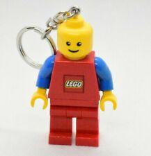 Lego Classic Brickman Key Light LED Keychains Red Blue