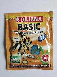 Basic Tropical Granules sachet - sinking food for all tropical fish - 30g