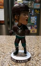 Anaheim Ducks Paul Kariya 25'th Anniversary Wild Wings Kids Club Bobblehead SGA