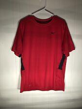 Nike Nike Fit Dri Men Shirt Size L Red Free Shipping