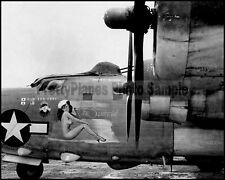 WW2 PB4Y Privateer (B-24 Variant) Super-Chief Nose Art 8x10 Aircraft Photos