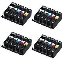 20x CLI-551XL Ink Cartridges (B/C/M/Y) for Canon Pixma IP7250 MG5450 MG6350 MX9