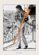 JIMI HENDRIX  PHOTO FANTASTIC SET OF 2 FROM THE LAST WEEK OF SHOWS 1970 5x7 bw