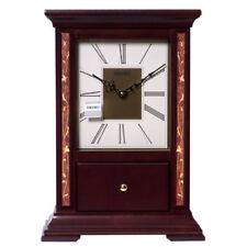 Seiko Decorative Wood Case Mantel Clock Qxg139Blh
