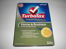 Turbotax 2012 Home & Business w/ state. New in box.