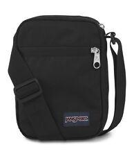 Jansport Weekender Black Shoulder Sling Messenger Mini Pack Bum Bag FREE POST