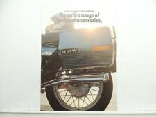 Vintage 1981 BMW Motorcycle Accessories Brochure Catalog L9994