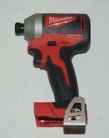 "Milwaukee 2850-20 M18 Brushless 1/4"" HEX Impact Driver Drill Bare Tool New"