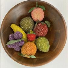 Lot Of Vintage Beaded Fruit