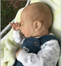 Realborn Reborn Baby Boy Logan Asleep Denise Pratt Lifelike Newborn Doll