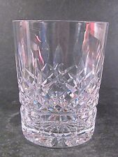Waterford Lismore DOUBLE OLD FASHIONED GLASS   Flat Bottom 4 3/8""