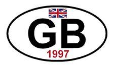 adhésif GB + 1997 véhicule collection JAGUAR LOTUS CATERHAM TVR JENSEN GINETTA
