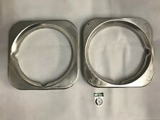 Bearmach Land Rover Series Headlamp Bezels (Left and Right Hand) BR1878R X 2