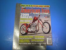 American Iron Magazine Harley January 2009 Harley's Sportsters & V-Rods M5870
