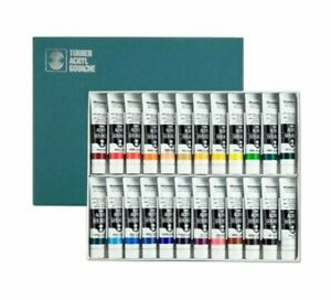 Turner Acrylic Paint Set Artist Acryl Gouache - Super Concentrated Vibrant