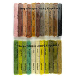 Semperfli KAPOK Full Selection Dubbing Dispenser 22 Farben Natural Dub superfine
