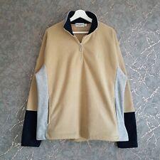 YSL Yves Saint Laurent Quarter Zip Fleece Size L