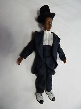 "Doll House Miniature Doll 6.2"" Heidi Ott adult Black Bjd Doll #X107"