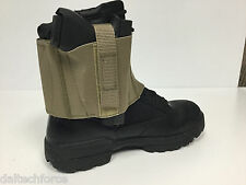Military Green Ankle CCW Concealed Gun Holster - Fits OVER Boot - Made in USA