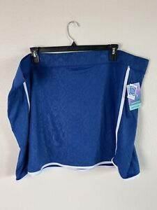 REEL LEGENDS Womens Skort Size 3 X Reg. $ 50 Blue