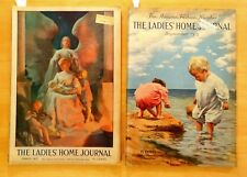2 LADIES' HOME JOURNAL Magazines 1913 March & September Fashion Cut Out Circus