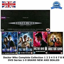 Doctor Who series 1-9 DVD Complete Collection 1 2 3 4 5 6 7 8 9 NEW SEALED UK R2