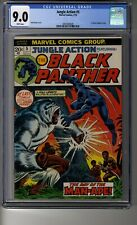 Jungle Action # 5 CGC 9.0 White Pg - Black Panther - Story Reprints Avengers #62
