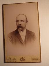 Mannheim - Pforzheim - Wildbad - Mann mit Bart - Portrait / CDV