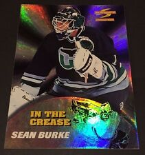 SEAN BURKE 1995-96 Summit ED IN THE CREASE Insert FOIL Card SP #13 Rare HTF!!