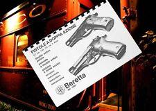 BERETTA Model 81 & 84 Double Act Pistol Owners  Manual