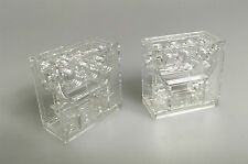 Lego ® Technic mercancía nueva 2x Gearbox 32239 transparente clear claramente de 10212 8088