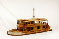 COLONIAL PADDLE STEAMER 28mm Laser cut MDF kit G060