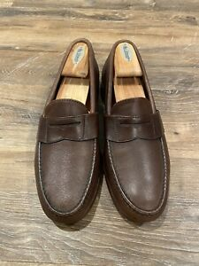Alden made in USA brown penny loafers 9.5D 9 1/2 D