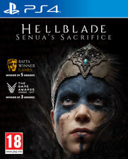 & Hellblade Senua's Sacrifice Sony PlayStation 4 Ps4 Game