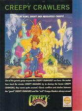 Creepy Crawlers 1993 Ad- Slimy Gooey And Absolutely Creepy!  SABAN