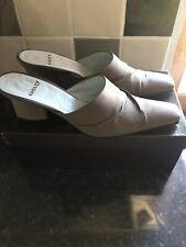 Audley Mule Shoes Khaki/Brown 40