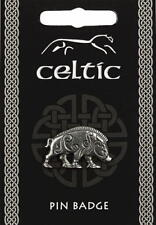 Celtic Boar Pewter Lapel Pin Badge