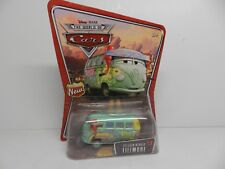 Disney Pixar Cars Pit Crew Member FILLMORE Volkswagen Bus Diecast