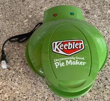 New Keebler Mini Personal Countertop Pie Maker Baker Green NonStick Tested Works