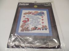 Janlynn Twinkling Eyes Cross Stitch Kit 80-09 -- NEW