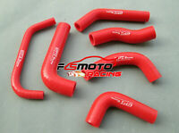 RED KIT For Honda XR650R XR650 XR 650 R RE01 2000-2009 SILICONE RADIATOR HOSE