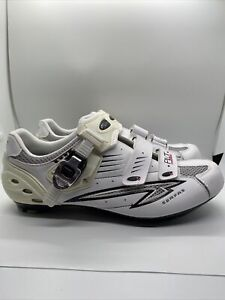 SERFAS Pilot Carbon Composite White Womens Cycling Shoes Size 11