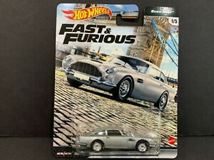 Hot Wheels Aston Martin DB5 Fast and Furious GBW75-956K 1/64